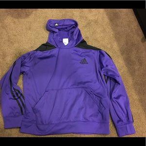 Women's Adidas hoodie purple medium sweatshirt